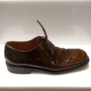 BACCO BUCCI Brown Men Leather Shoes Lace Up